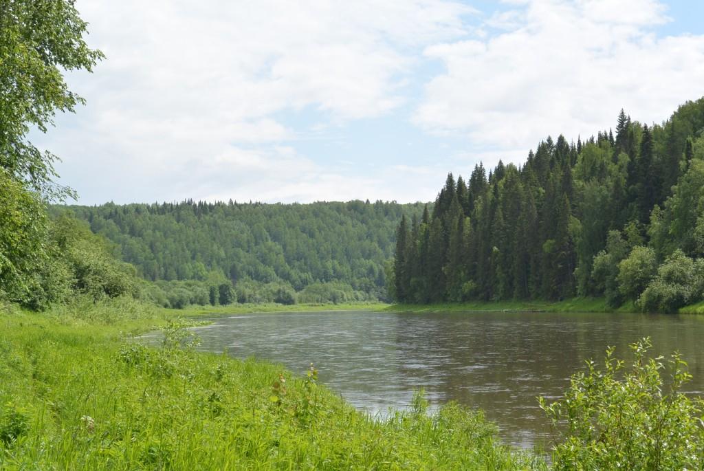 Зона-М. Сылва близ Базового Лагеря