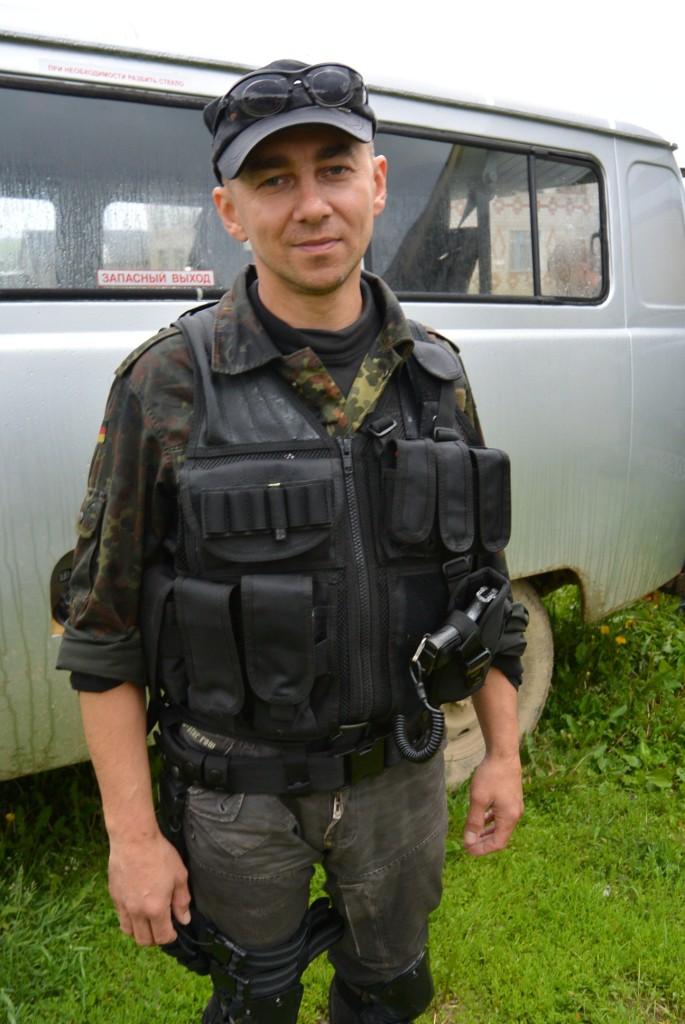 Ярослав как всегда в восторге от визита в Зону!