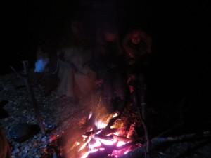 Ночь в АЗ Молебка