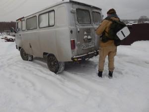 Наш КосмоБатон всегда готов доставить в необычные места Урала!